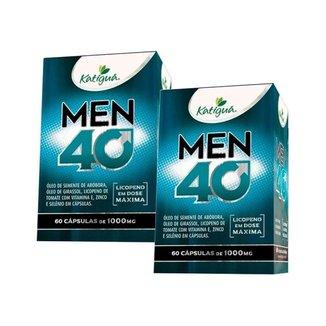 Kit 2 Men 40 - 60 Cápsulas - Katiguá