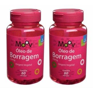 Kit 2 Óleo de Borragem 60 cápsulas - Alivia sintomas da TPM e menopausa