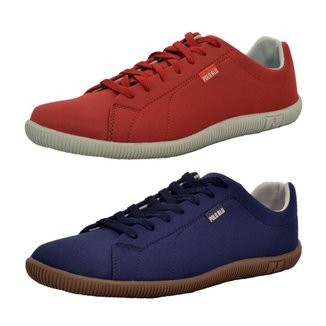 Kit 2 Pares Sapatênis Top Franca Shoes Casual Masculino