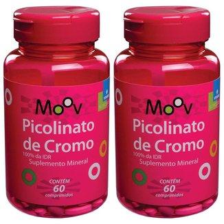Kit 2 Picolinato De Cromo - Reduz Vontade Por Doces- 60 comprimidos