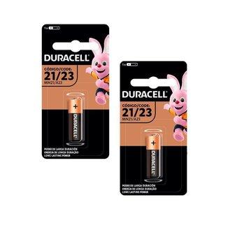 Kit 2 Pilhas Duracell Alcalina A23 12V