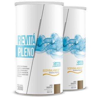 Kit 2 Proteína 20g Revitá pleno chocolate 300g