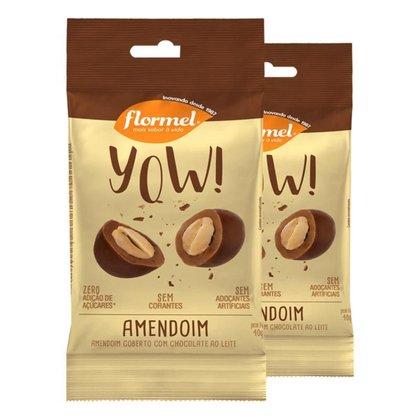 Kit 2 Yow Flormel Amendoim 40g