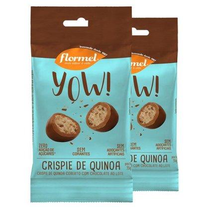 Kit 2 Yow Flormel Crispie de Quinoa 40g