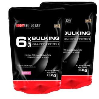 Kit 2x 6 Six Bulking 6kg Bodybuilders