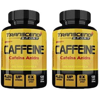 Kit 2x Caffeine (Cafeína Anidra) Katigua Sport  120 Cápsulas