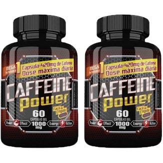 Kit 2x Caffeine Power (Cafeína) Katigua Sport Cápsulas