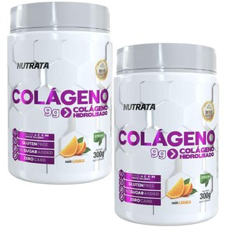 Kit 2X Colágeno Only Women - 300g Laranja - Nutrata