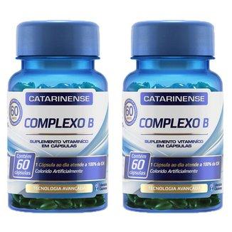 Kit 2x Complexo B 60 cápsulas - Catarinense