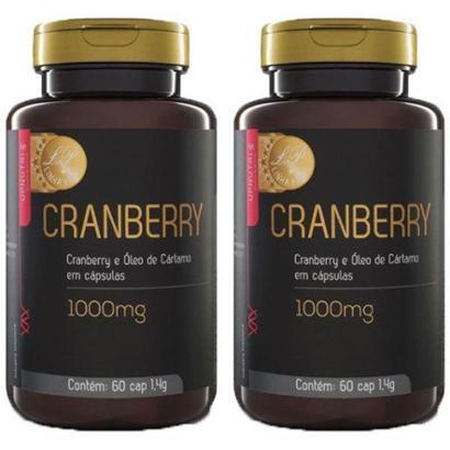 Kit 2x Cranberry e Óleo de Cártamo 60 Cápsulas Upnutri Prime - Unissex