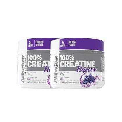 Kit 2x Creatina 100% Flavour 300g - Atlhetica Nutrition