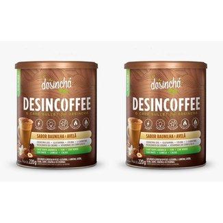 Kit 2x Desincoffee Baunilha e Avelã (2x 220gr) - Desinchá