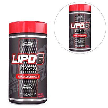 Kit 2x Lipo 6 Black Ultra Concentrado 125g – Nutrex