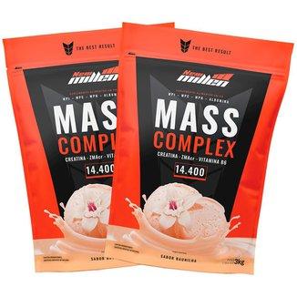 Kit 2x Mass Complex 3kg Baunilha - New Millen