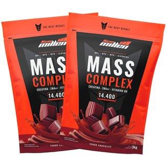 Kit 2x Mass Complex 3kg Chocolate - New Millen