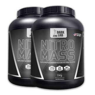 Kit 2X Nitro Mass 3Kg Dark Lab