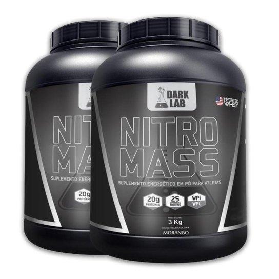Kit 2X Nitro Mass 3Kg Dark Lab -