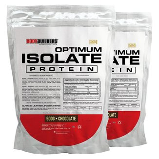 Kit 2x Optimum Isolate Whey Protein 900g  - Bodybuilders