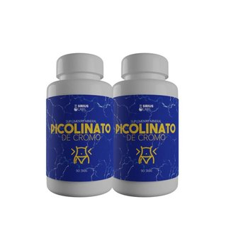 Kit 2x Picolinato de Cromo - Sirius