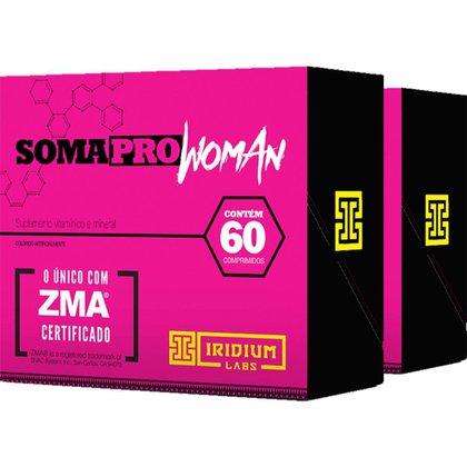 Kit 2x Soma Pro Woman ZMA® Pré Hormonal - 60 Comps