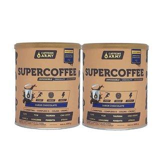 Kit 2x Supercoffee 220g Caffeinearmy