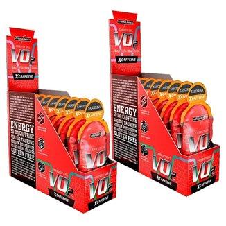 Kit 2X Vo2 Energy Gel X-Caffeine - 10 Sachês 30g Tangerina - IntegralMédica