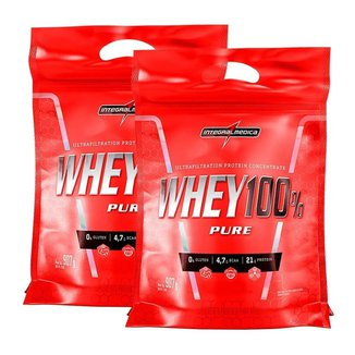KIT 2X WHEY 100% PURE 900G (COOKIES)