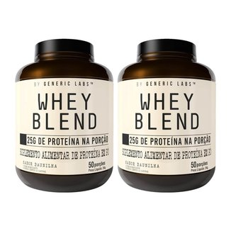 Kit 2x Whey Blend Generic Labs 2Kg Generic Labs