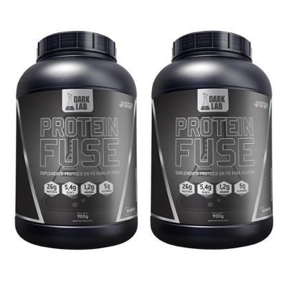 Kit 2x Whey Protein Fuse 900g Dark Lab