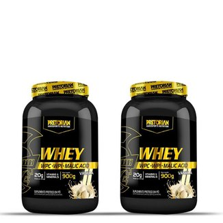 Kit 2x Whey Ultra Protein 900g - Pretorian