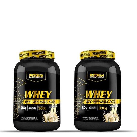 Kit 2x Whey Ultra Protein 900g - Pretorian -