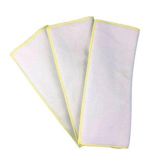 Kit 3 Absorventes em Melton 8 Camadas Cobertura Sempre Seca