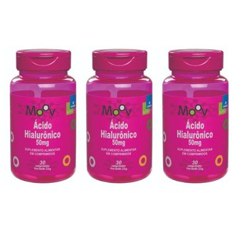 Kit 3 Ácido Hialurônico p/ Redução de Rugas e Antienvelhecimento