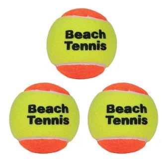Kit 3 Bolas De Beach Tennis Lcm