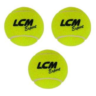 Kit 3 Bolas De Tênis Export Lcm