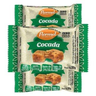 Kit 3 Cocada 20g Flormel