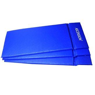 Kit 3 Colchonetes 115 X 47 X 40 Cm D80 Academia / Escola/ginastica - Azul