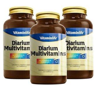 Kit 3 Diarium 120 Comp. - Vitaminlife