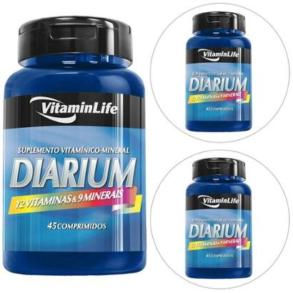 Kit 3 Diarium 45 Comp. – Vitaminlife
