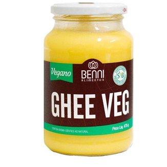 Kit 3 Manteɪga Ghee Vegano Benni 475g Tradicional