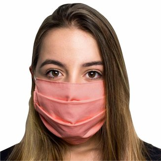 Kit 3 Máscaras Protetoras Dupla Face Reutilizável Lavável