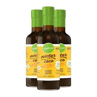 Kit 3 Néctar de coco da Qualicôco 250ml