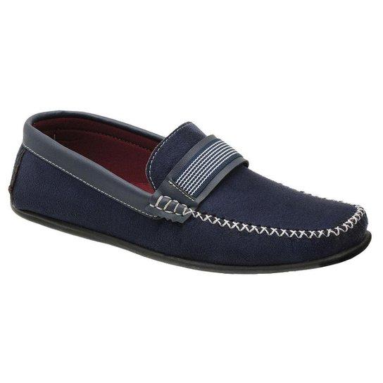 Kit 3 Pares Sapato Sapatilha Mocassim Masculino Conforto Flex + Cinto e Carteira Couro - Preto