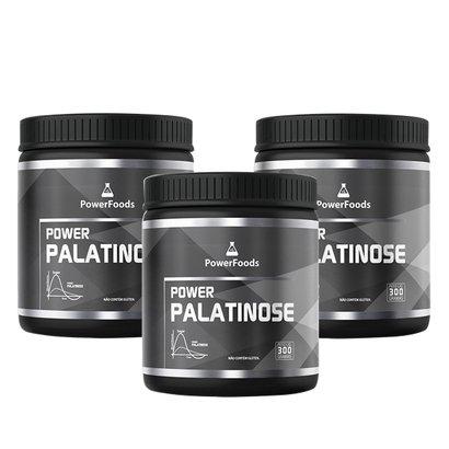 Kit 3 Power Palatinose – 300g – PowerFoods