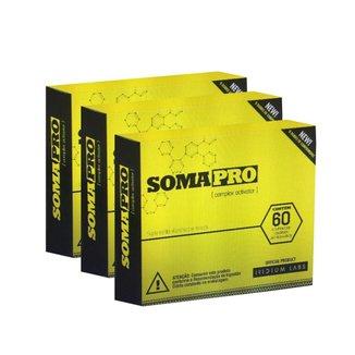 Kit 3 Somapro 60 Comp.