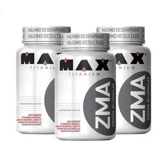 Kit 3 ZMA 90 cápsulas - Max Titanium