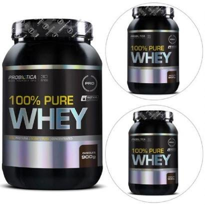 Kit 3x 100% Pure Whey 900g – Probiótica
