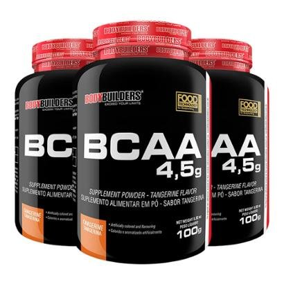 Kit 3x BCAA 1800 120 Cápsulas – Bodybuilders