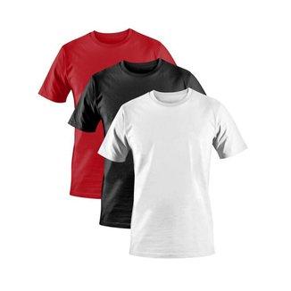 Kit 3x Camiseta Dez Dez Básicas Premium Masculina