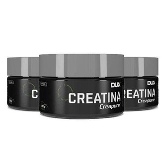 Kit 3x Creatina Dux Nutrition Creapure 100g